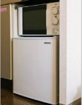 ミニ冷蔵&電子レンジ(キッチン)